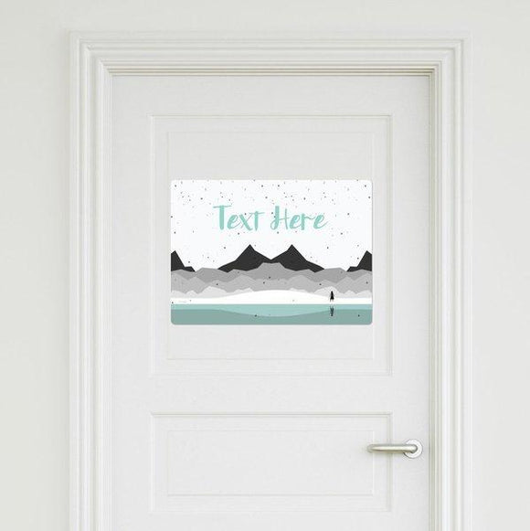 Frozen - Dark Waters Door Sign