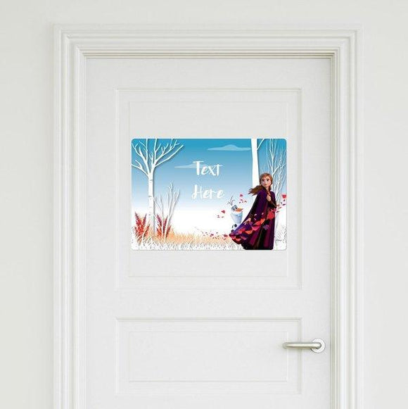 Frozen - Anna Door Sign