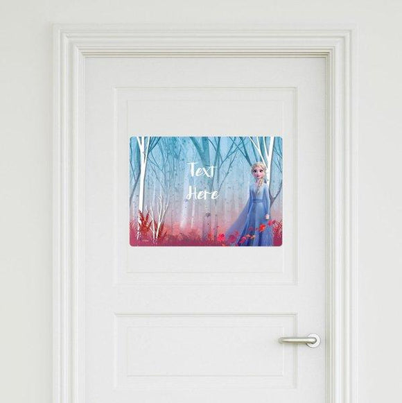 Frozen - Elsa Door Sign