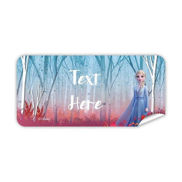 Frozen - Elsa Rectangle Labels 48pk