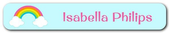 Rainbow Mini Name Labels 78pk (Temporary Out of Stock)