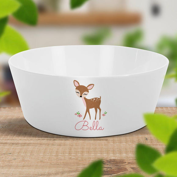 Cute Deer Kids' Bowl