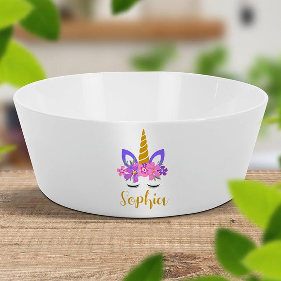 Unicorn Kids' Bowl