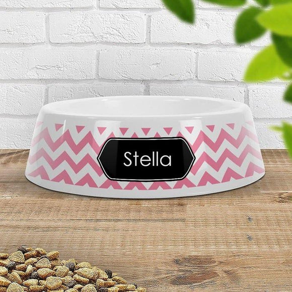 Chevron Pet Bowl - Small (Temporarily Out of Stock)
