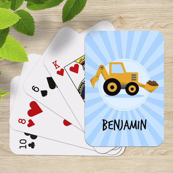 Little Digger Playing Cards