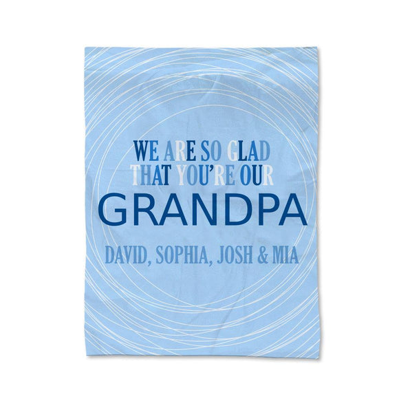 Grandpa Blanket - Medium