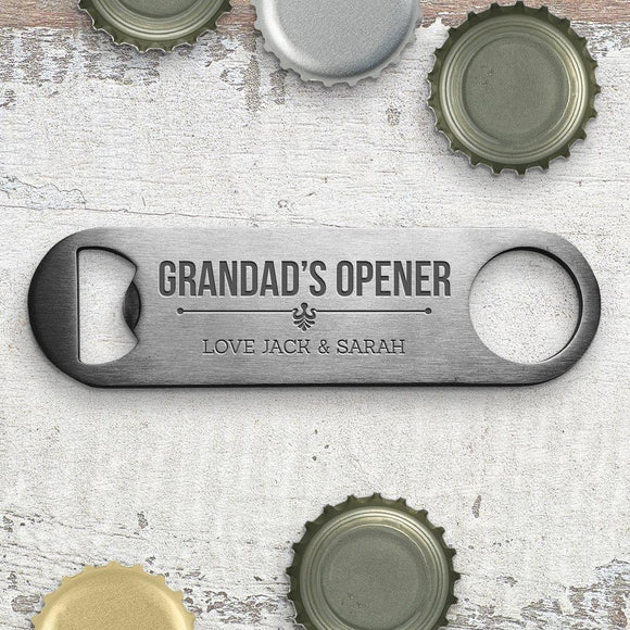 Grandad's Engraved Bottle Opener