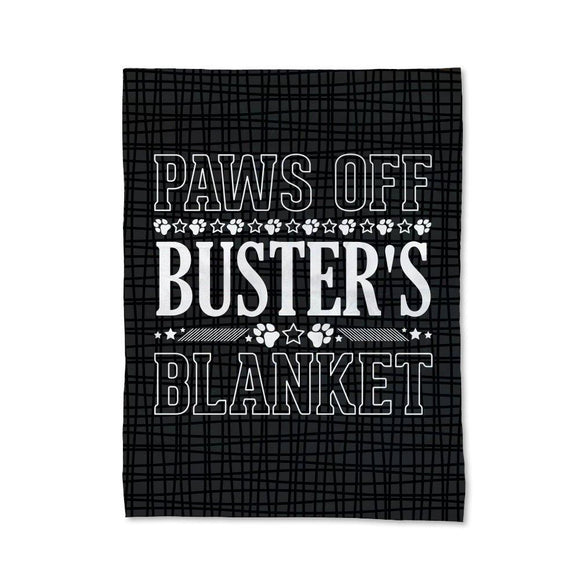 Paws Off Pet Blanket - Medium