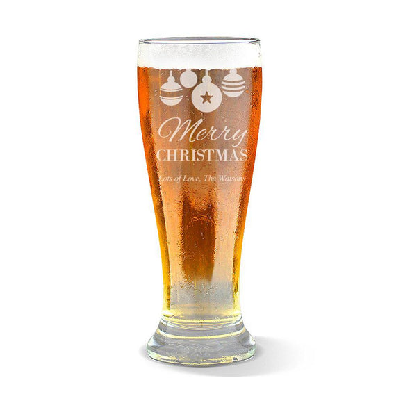 Bauble Premium 285ml Beer Glass