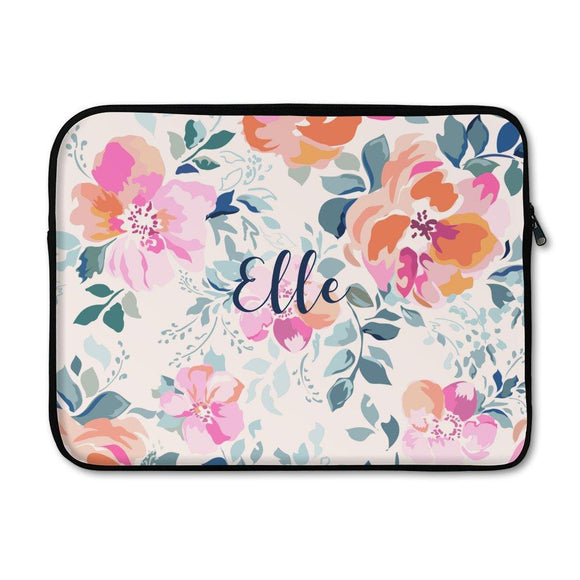 Flower Laptop Sleeve - Small