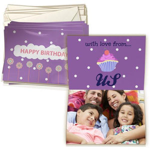 4x6 Greeting Card Double-sided (20 Pack)