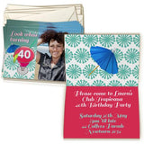 5x7 Greeting Card Double-sided (20 Pack)