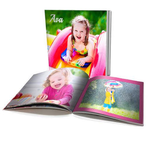 "6 x 6"" Personalised Soft Cover Book (40 Pages)"