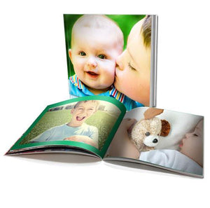 "6 x 6"" Personalised Soft Cover Book (60 Pages)"