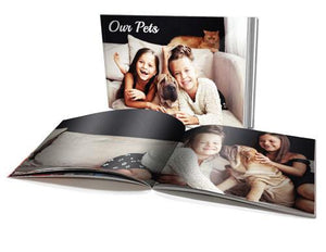 "6 x 8"" Personalised Soft Cover Book (40 Pages)"