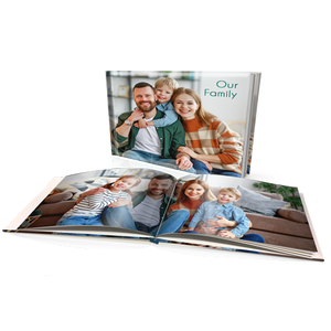 "8x11"" Premium Personalised Hard Cover Book"