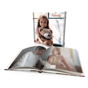 "12x12"" Premium Personalised Hard Cover Book"