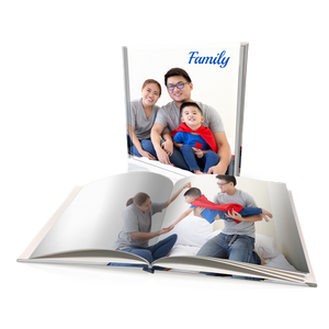 "8x8"" Premium Personalised Hard Cover Book"