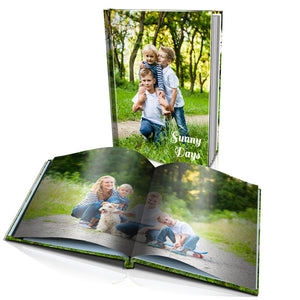 "10 x 8"" Portrait Personalised Hard Cover Photo Book"