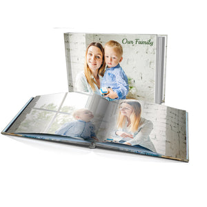 "8 x 10"" Personalised Hard Cover Photo Book"