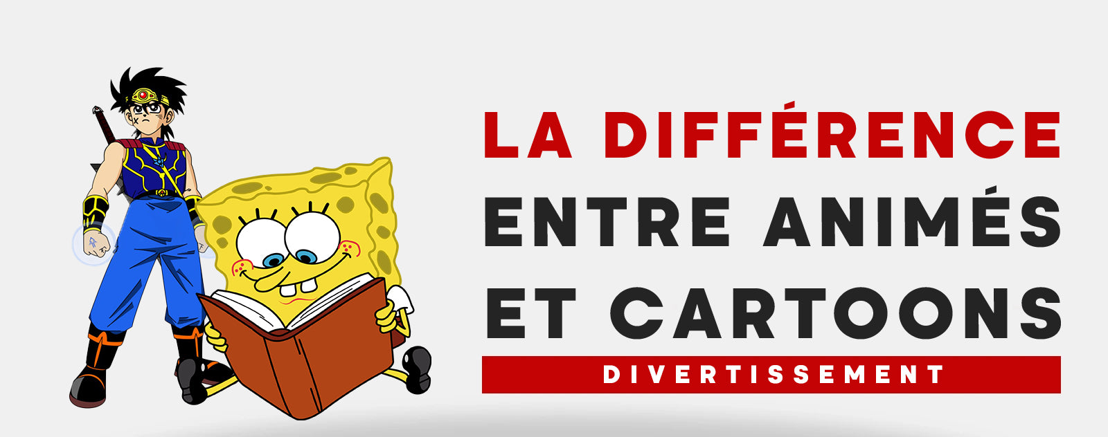 La Difference Entre Anime et Cartoon