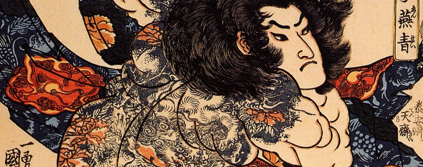 Irezumi tatouage japonais traditionnel