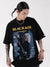T-shirt Oversize Blackair 'Rockstar'
