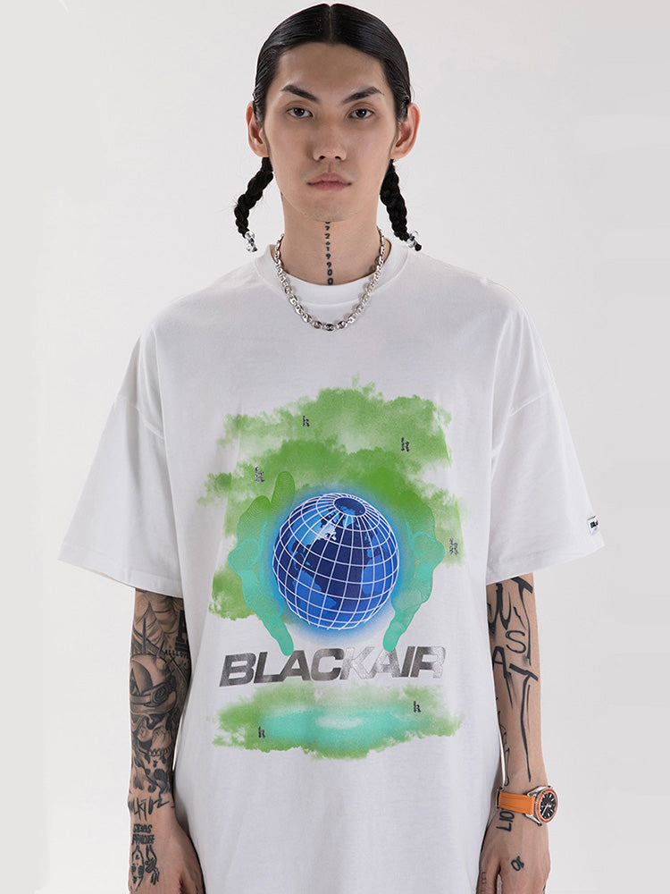 T-shirt Streetwear Blackair 'Global'