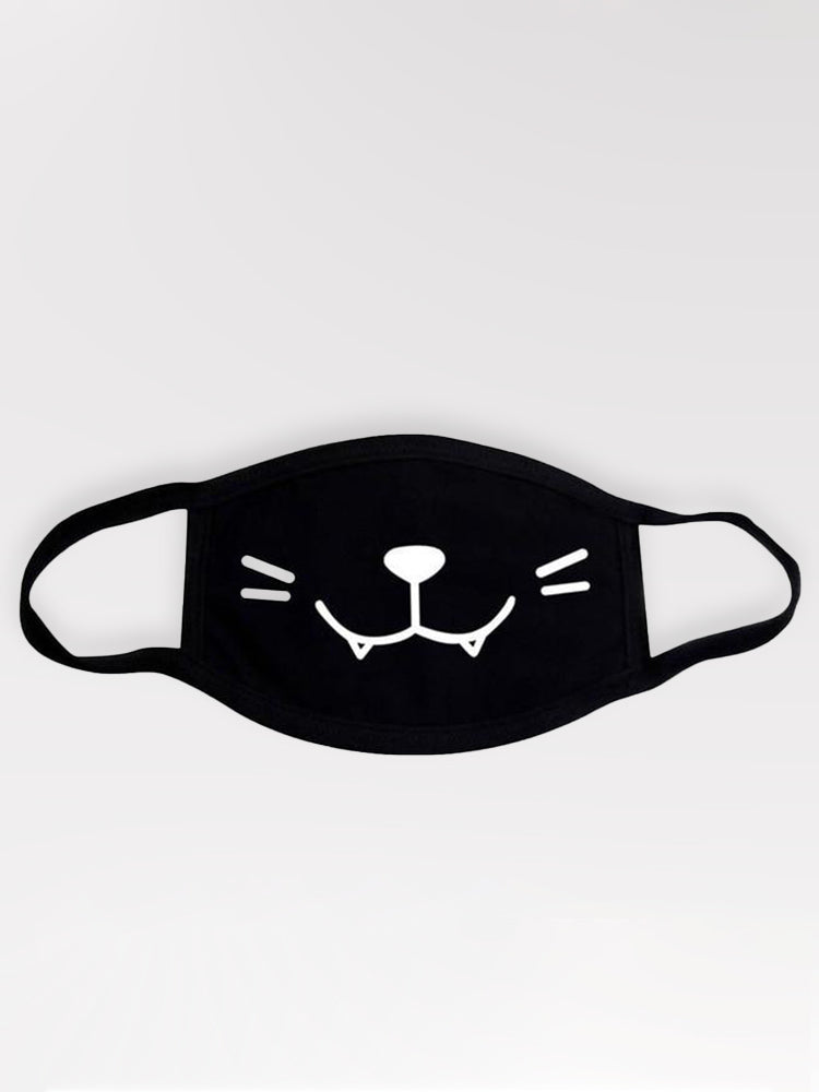 Masque Kawaii Neko 100% Coton