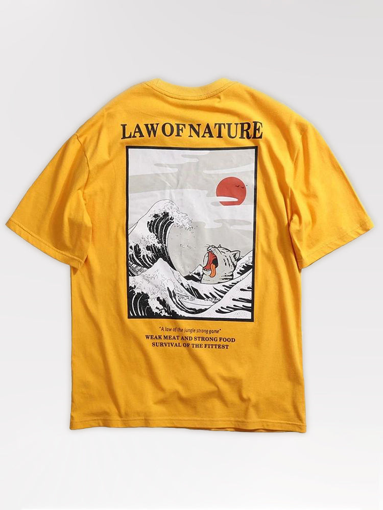 T-Shirt Law of Nature 'Kanagawa'