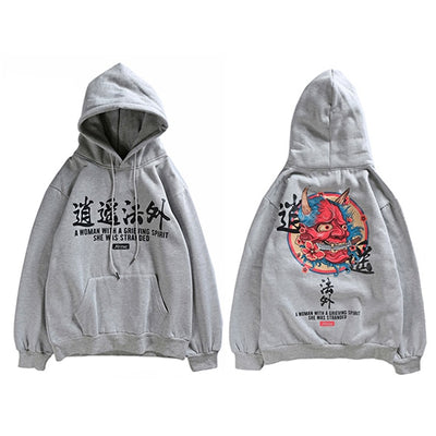 Sweat Shirt Motif Japonais