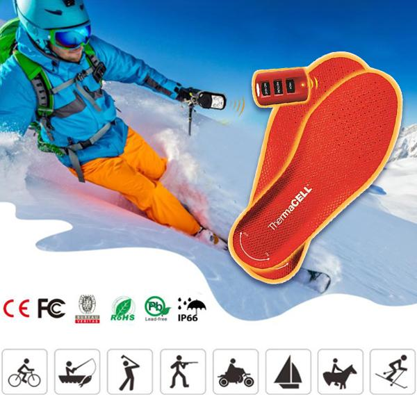 【FREE SHIPPING】Rechargeable heating intelligent temperature adjustment insole