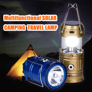 Power Source Solar USB Mobile Charger Lithium Battery Emergency Light(Travel, Camping)