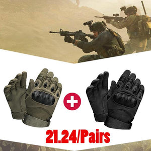 【Hot Sale】Rubber Knuckle Outdoor Tactical Gloves
