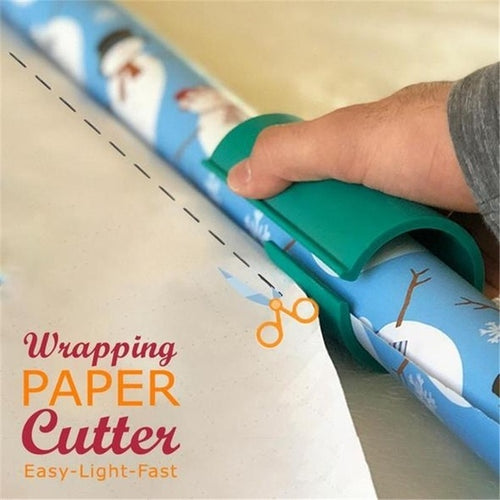 🔥ONLY $6.65 TODAY 🔥—Wrapping Paper Cutter