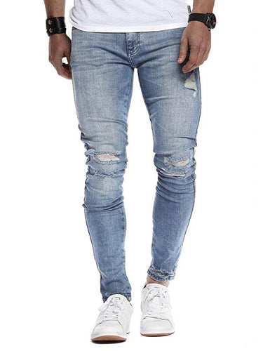 2 Colors Slim Leisure Jeans