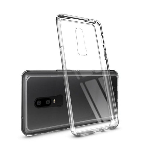 Crystal Transparent Tempered Glass Case For Oneplus7pro 7 6