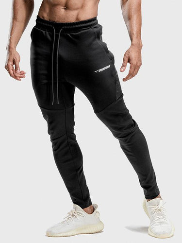 4 Colors Drawstring Stretchy Men's Track Pants