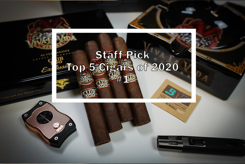 2020 Luxury Cigar Club Top 5 - #1 Viva La Vida Club 500