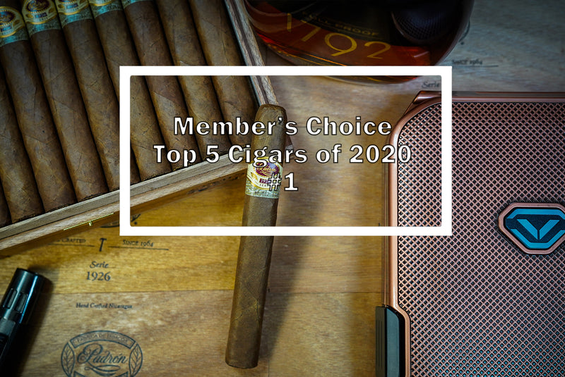 2020 Luxury Cigar Club Member's Choice Top 5 - #1 Padron 1926 No. 1 Natural