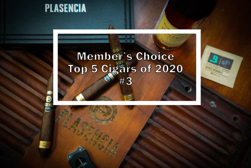 2020 Luxury Cigar Club Member's Choice Top 5 - #3 Plasencia Alma Fuerte Generación V