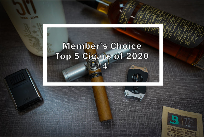 2020 Luxury Cigar Club Member's Choice Top 5 - #4 Zino Platinum Crown Series Barrel Tubo
