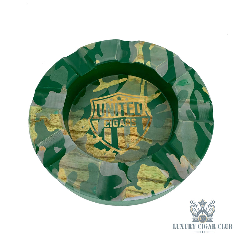 Cigarzona Spartacus United Ashtray - Camo