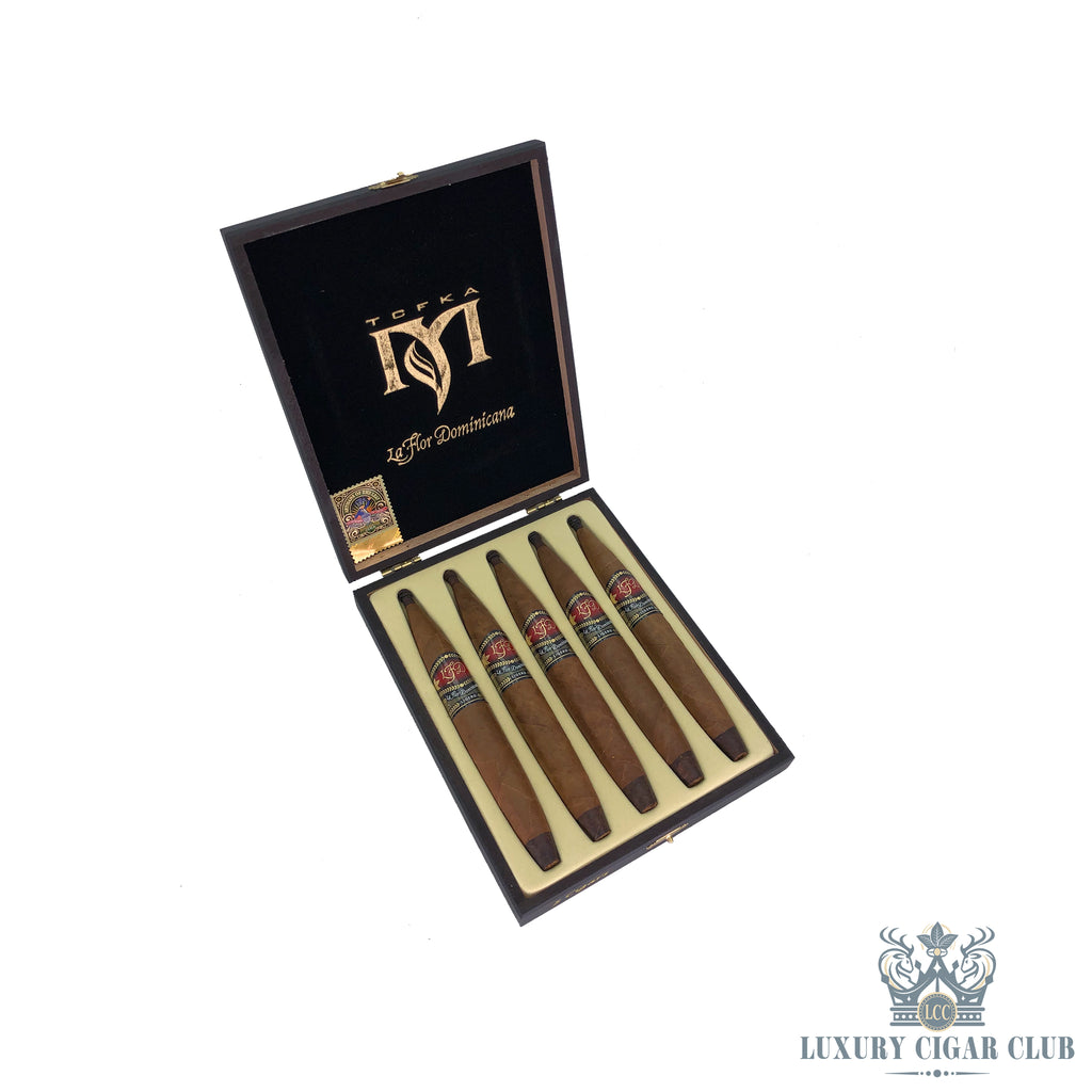 La Flor Dominicana TCFKA M Natural Limited Release Box of 5