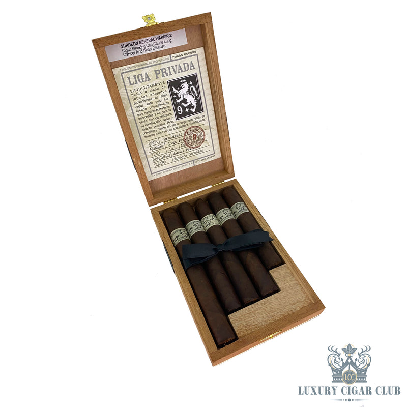 Liga Privada No. 9 5 Count Tasting Sampler