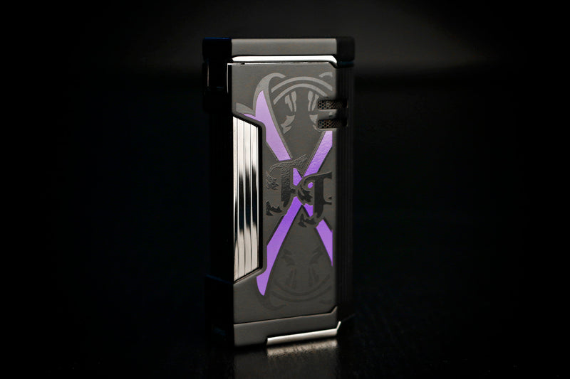 Prometheus OpusX Purple Rain Magama X Black Matte Flat Torch Flame