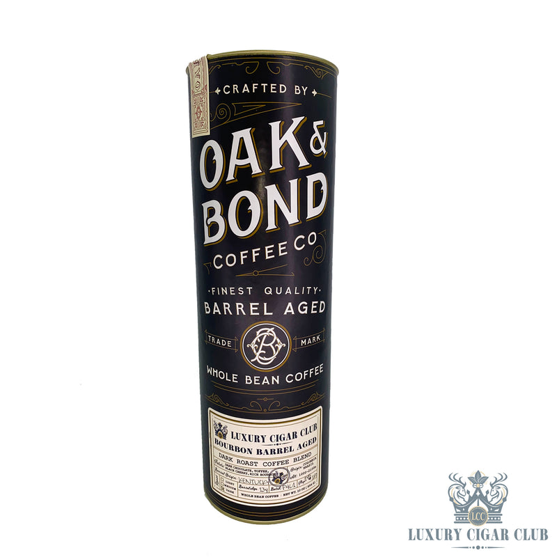Luxury Cigar Club Bourbon Barrel Aged Coffee by Oak & Bond