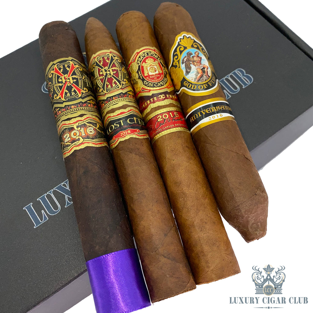 LLC Tauros the Bull Maduro Sampler