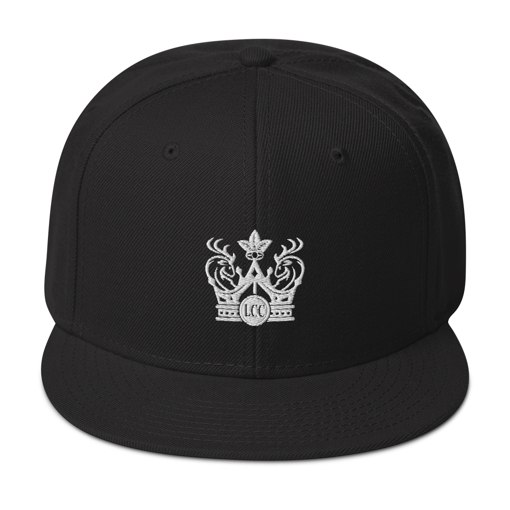 Luxury Cigar Club Signet Flat Bill Snapback Hat