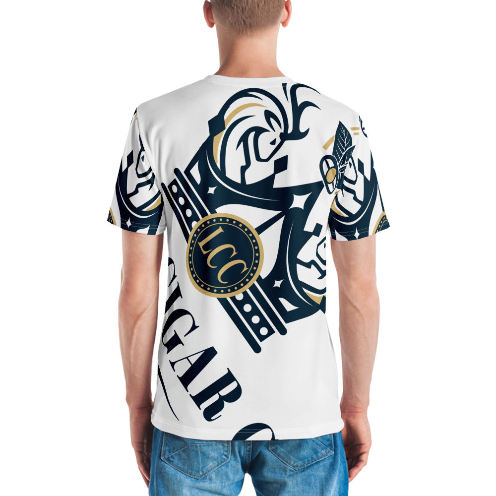 Luxury Cigar Club All-Over T-Shirt
